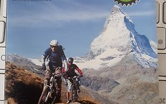 Supertrail Map Zermatt/Saas Fee