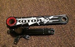 Rotor 3D+ Kurbel 175mm Top
