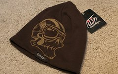 Troy Lee Designs Beanie / Mütze Skull brown *NEU* BLOWOFF!!!