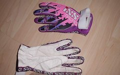 IXS Tecno Handschuhe echtes Leder