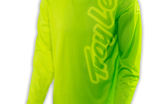 Troy Lee Designs GP AIR JERSEY 50/50 FLO YELLOW/GREEN 2017
