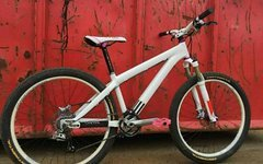 Canyon stitched Rock Shox sid syncross dirt bike girl