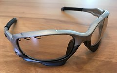Oakley Jawbone / Racing Jacket Silver / Clear Black Iridium Photochromic Vented
