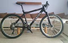 Canyon Ultimate CF F 10 Carbon Hardtail / Crossmax SL SSC