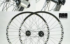 E*thirteen LG1+ Laufradsatz mit Noa-Bl-Evo DH Naben Freeride Downhill