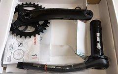 SRAM X1 1400 Kurbelset, 175mm, BB30, Q168, DM 32 Zahn