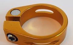 Aluminium Sattelklemme 34,9mm *gold* (für 31,x mm Stütze)