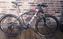 Felt Mountainbike Felt Nine 2 Carbon Größe L 29'er 2017 mit ZTR Arch Ex Laufrädern