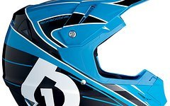 661 SixSixOne Comp Fullface DH Helm Youth RED/BLUE L *NEU*