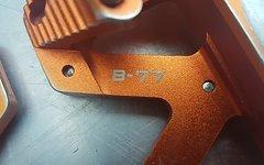 Wellgo  B-77 Dh / Fr Pedale Orange Wellgo