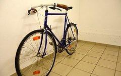 Peugeot Tourmalet 14 lila Retro Stahl Rennrad
