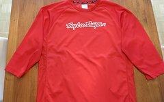 Troy Lee Designs Jersey RUCKUS Red Gr. L  Enduro  wie NEU!!!