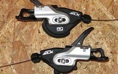 Shimano SLX 10-fach // 2/3-fach Schalthebel Paar Trigger Shifter NEU SL-M670-b I Spec B