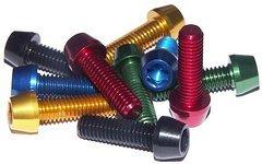 M6 x 10, 20, 25, 30, 40 mm Aluminium Schraube, AL7075, konischer Kopf