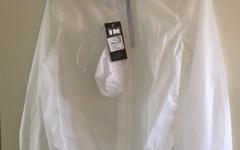 Inverse Platinum Rain Jacket White XXXL