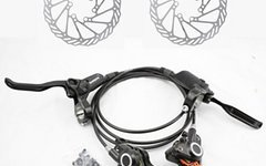 Shimano inkl. versand-BR-BL-M355 Bremse - VR+HR+Avid G3-Scheiben - Scheibenbremse Set