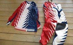 Troy Lee Designs GP Jersey Shocker Red/White/Blue, Größe M