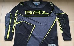 O'Neal Element Racewear Jersey black/hi-viz Gr. XL - NEU