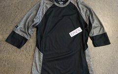Dakine Damen Teamtrikot Womens Xena 3/4 Jersey, Black, L,