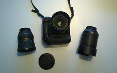 Nikon D7100 Komplett-Ausrüstung mit 3 Objektiven - OVP!