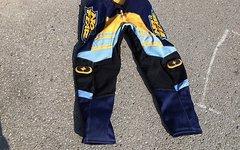 No Fear Hose GT blau gelb 36