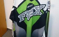 Fox Jersey, Größe M, grün, guter Zustand