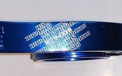 Sixpack Menace 34.9 mm Sattelklemme blau
