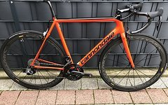 Cannondale SuperSix Evo SRAM Red Etap Gr.56 2017 Cosmic Quarq