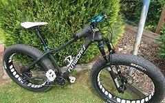 Fatbike Carbon Custom Bike Nur 12,5 Kg Tausche Fatbike
