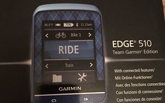 Garmin Edge 510 Sonderedition Team Garmin
