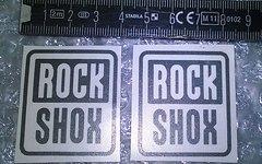 Rock Shox Gabel Casting Aufkleber