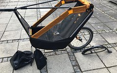 Tout Terrain Singletrailer Kinderanhänger, bike trailer, singletrailer