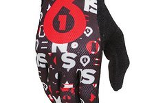 661 SixSixOne Comp Gloves / Handschuhe black / red XS