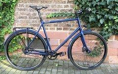 Veloheld Lane XL 60 cm Trekkingbike SON Schmidt Nabendynamo Edelux II Acros XT Tubus