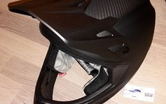 """Specialized Dissident Carbon Helm """"M"""" in mattcarbon inkl. Tasche """"NEU"""""""