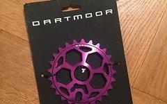 Dartmoor BMX DIRT Kettenblatt 25 Zähne NEU Fetish violet