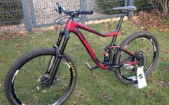 Giant Trance Advanced (Carbon) Rahmen, L, 27,5 / 650 b