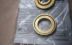 Shimano Saint center lock Verschluss gold