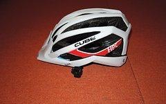 Cube Profi-MTB-Helm weiß