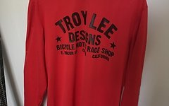 Troy Lee Designs DOWNHILL-JERSEY SUPER RETRO ROT