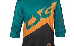 TSG AK1 Jersey LS 3/4, schwarz grün, Größe L, NEU