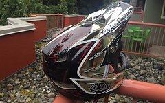 Troy Lee Designs D3 helmet / Size: S