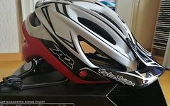 Troy Lee Designs A2 MIPS Sram Edition white/red Gr.M/L