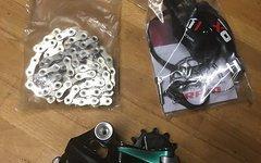 SRAM X01, 11fach, Schaltwerk, Trigger und Kette (XX1)