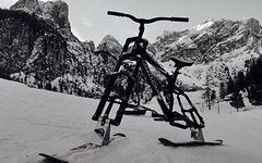 Ghost Northshore Fr Skibike Snowbike Fox DHX, Marzocchi