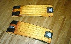 Aurora Pedal Straps, orange, neu