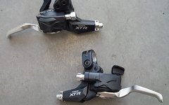 Shimano XTR Brems-/Schalthebelkombination Dual-Control V-Bremse ST-M970