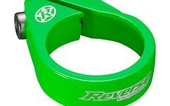 Reverse Components Sattelschelle Bolt Clamp Ø34.9mm, Neon Green,Seatclamp, Bolt Clamp, 26g