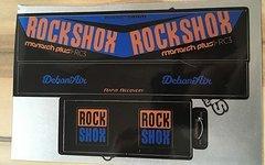 Decals für RockShox, DT Swiss, Formula