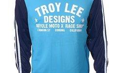 Troy Lee Designs Super Retro Jersey Cyan S, M, XL